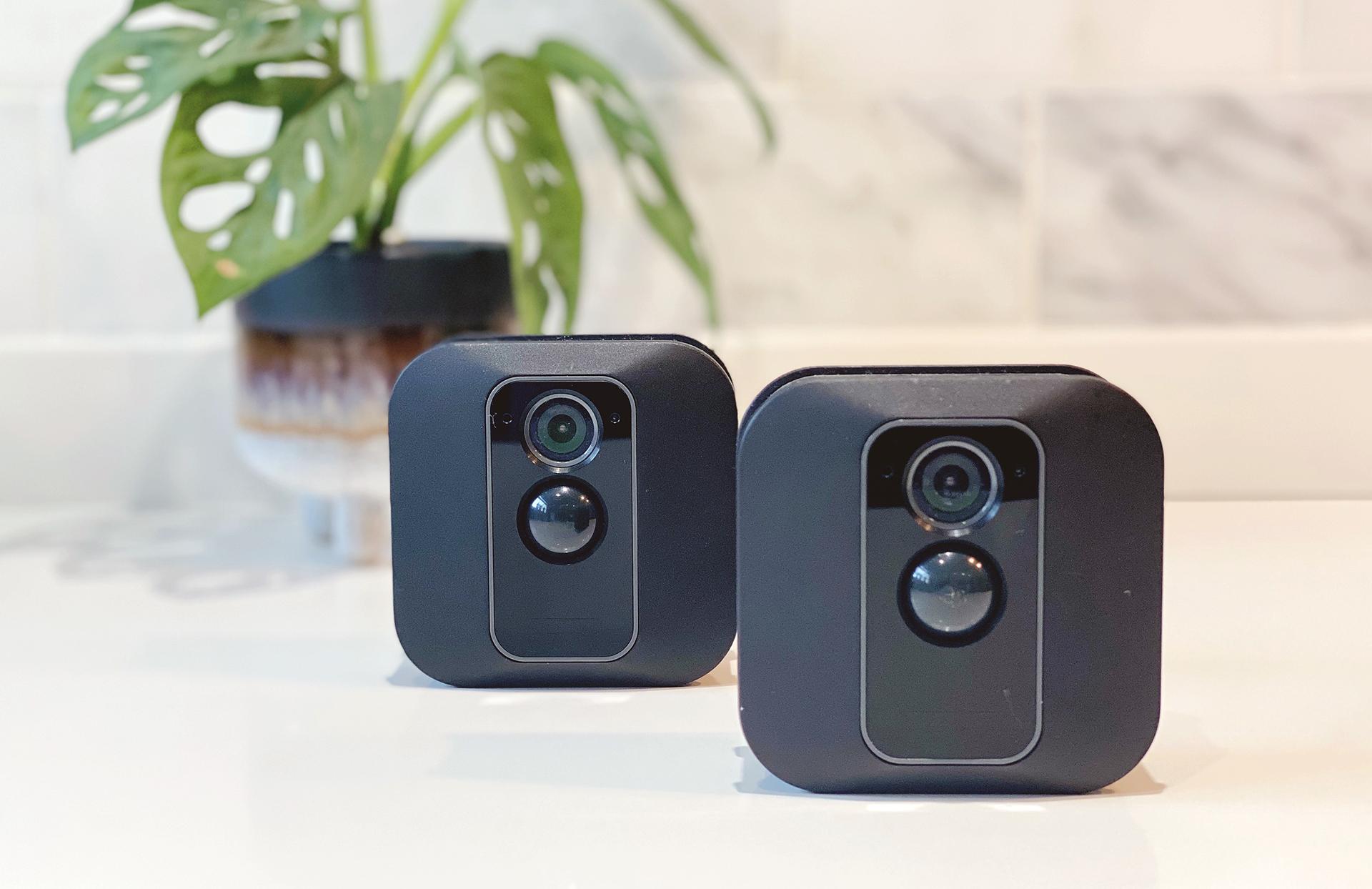 Blink security cameras